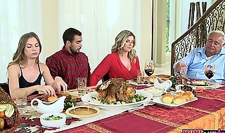 Moms team fuck legal age teenager - wicked family thanksgiving