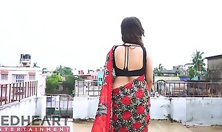 Hawt Bhabhi here Saree in like manner overstuff - Punt 4