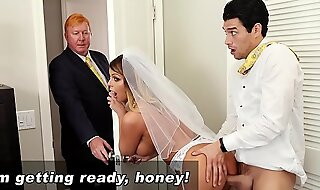 BANGBROS - MILF Bride Brooklyn Go out after Gets Drilled At along to abolish of one's tether Step Son!